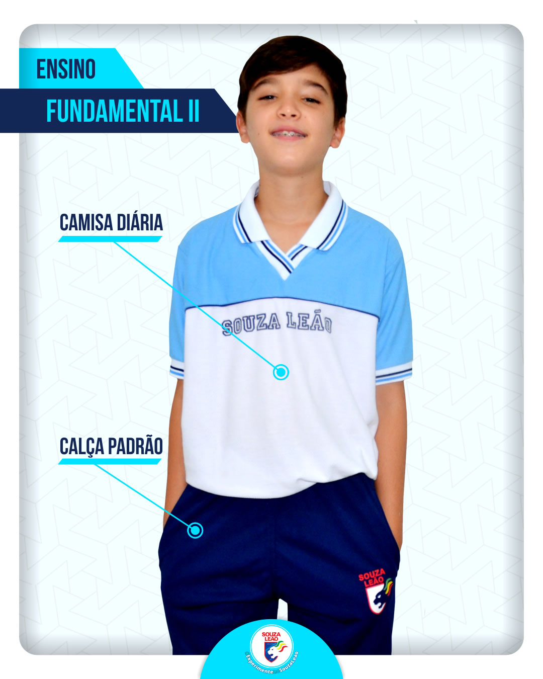 Camisa Diaria Calca Padrao Fundamental 2
